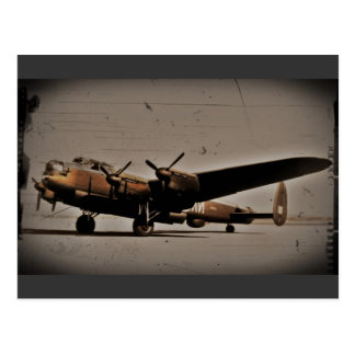 British Heavy Bomber Postcard