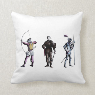 British Heraldry 15th Century Knights Pillows