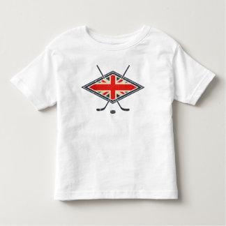 British Ice Hockey Flag Toddler T-shirt