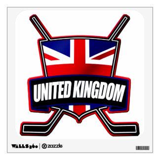 British Ice Hockey Shield Wall Decal