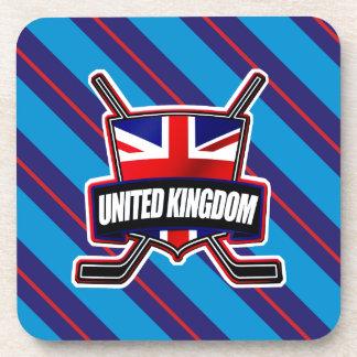 British Ice Hockey UK Drinks Coatsters Beverage Coaster