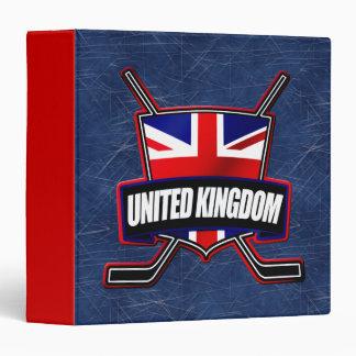 British Ice Hockey UK Folder 3 Ring Binder
