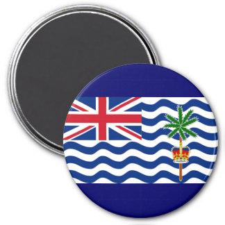 British Indian Ocean 3 Inch Round Magnet