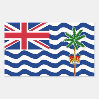British Indian Ocean Rectangular Sticker
