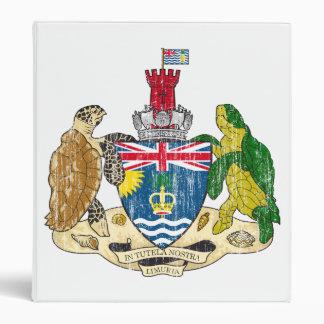 British Indian Ocean Territories Coat Of Arms 3 Ring Binder
