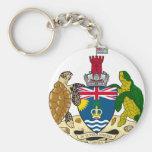 British Indian Ocean Territories Coat Of Arms Keychain