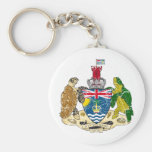 British Indian Ocean Territories Coat Of Arms Keychains
