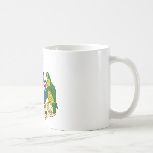 British Indian Ocean Territories Coat Of Arms Classic White Coffee Mug