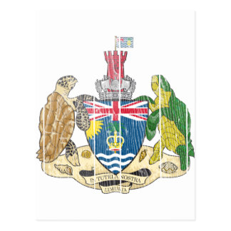 British Indian Ocean Territories Coat Of Arms Postcard