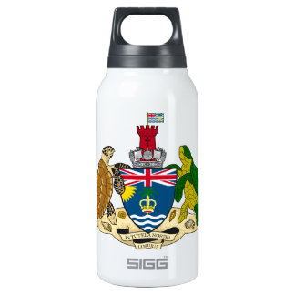 British Indian Ocean Territories Coat Of Arms Thermos Bottle