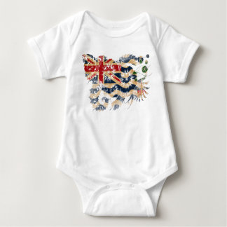 British Indian Ocean Territories Flag Baby Bodysuit