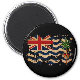 British Indian Ocean Territories Flag 2 Inch Round Magnet