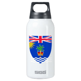 British Indian Ocean Territory Coat of Arms Insulated Water Bottle