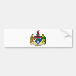 British Indian Ocean Territory Coat of arms IO Bumper Sticker