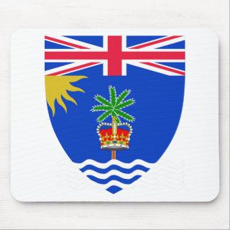 British Indian Ocean Territory Coat of Arms Mouse Pad