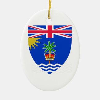 British Indian Ocean Territory Coat of Arms Christmas Tree Ornaments