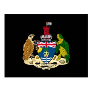 British Indian Ocean Territory Coat of Arms Postcard