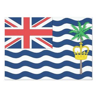 British Indian Ocean Territory Flag Card