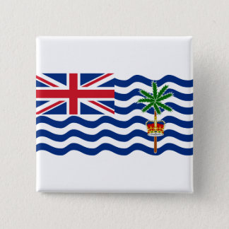 British Indian Ocean Territory Flag IO Button