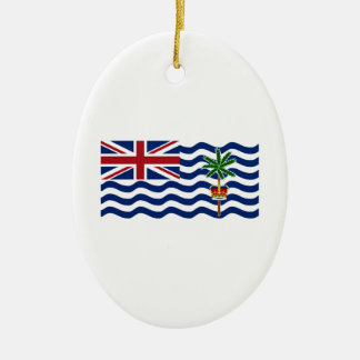 British Indian Ocean Territory Flag Christmas Tree Ornament