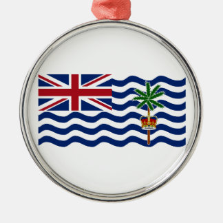 British Indian Ocean Territory Flag Christmas Ornaments