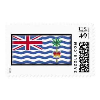 British Indian Ocean Territory Flag Postage
