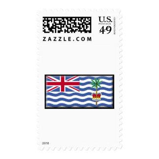 British Indian Ocean Territory Flag Postage Stamp