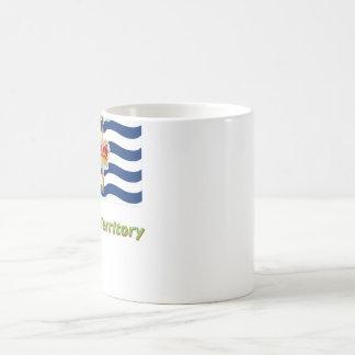 British Indian Ocean Territory Flag with Name Coffee Mug