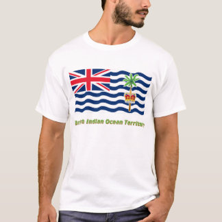 British Indian Ocean Territory Flag with Name T-Shirt