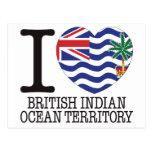 British Indian Ocean Territory Love v2 Postcards