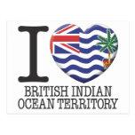 British Indian Ocean Territory Post Cards