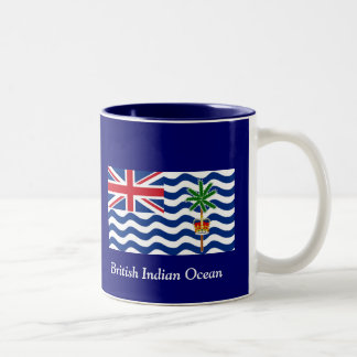 British Indian Ocean Two-Tone Coffee Mug