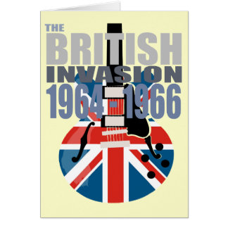 British Invasion 2 Card