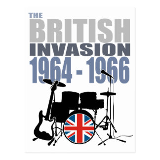 British Invasion III Postcard