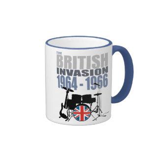 British Invasion III Ringer Coffee Mug