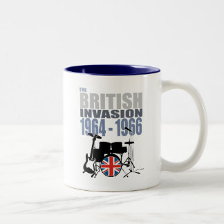 British Invasion III Two-Tone Coffee Mug