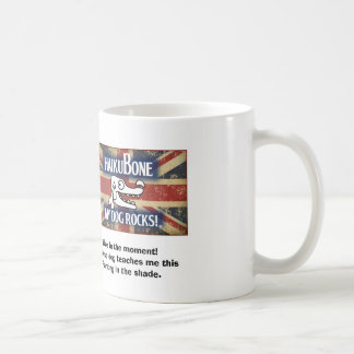 "British Invasion Logo ""Live in the Moment"" Coffee Mug"
