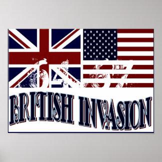 BRITISH INVASION POSTER