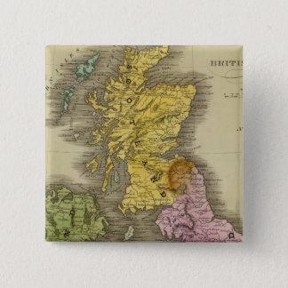 British Islands 3 Pinback Button