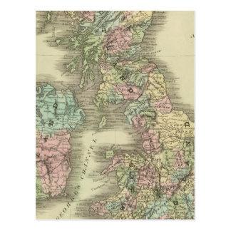 British Islands 3 Postcard