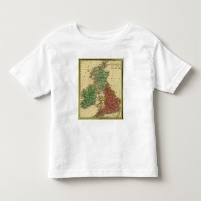 British Islands 4 Toddler T-shirt