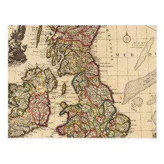 British Islands, England, Ireland Postcard
