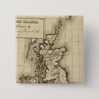 British Islands Pinback Button