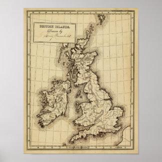 British Islands Print