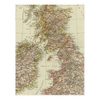 British Isles 10 Postcard