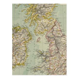 British Isles 11 Postcard