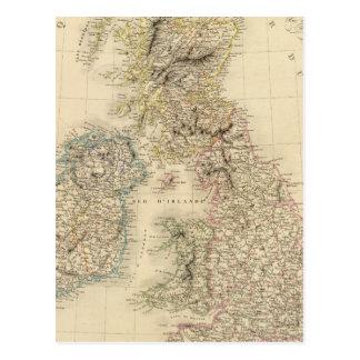 British Isles 2 Postcard