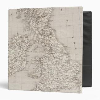 British Isles 2 Vinyl Binder
