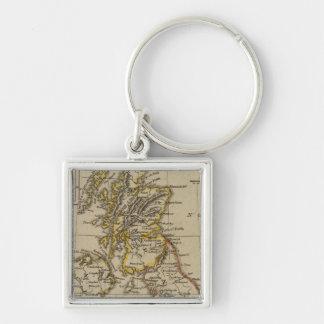British Isles 3 Keychain