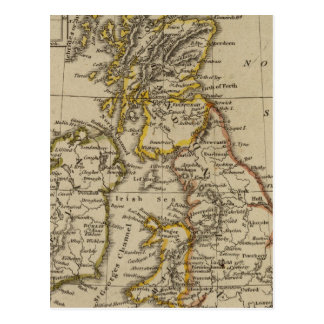 British Isles 3 Postcard